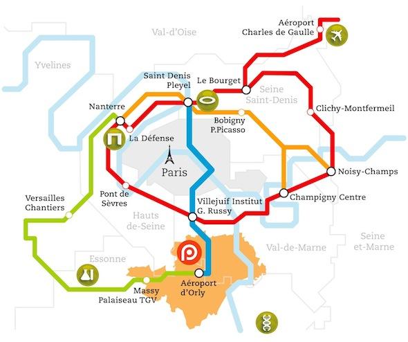 Plan Grand Paris Express